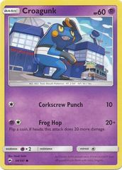 Croagunk - 54/147 - Common on Channel Fireball