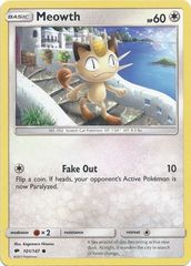 Meowth - 101/147 - Common