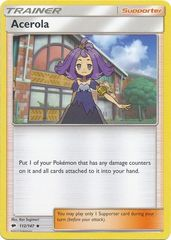Acerola - 112/147 - Uncommon on Channel Fireball