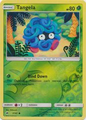 Tangela - 7/147 - Common - Reverse Holo