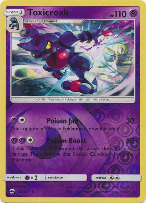 108//147 Pokemon: Bouffalant Sun /& Moon: Burning Shadows Reverse Holo