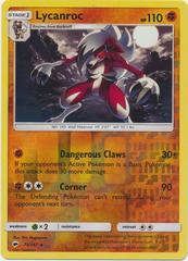 Lycanroc - 75/147 - Reverse Holo Rare