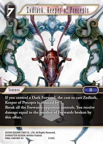 Zodiark, Keeper of Precepts - 3-147L