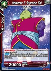 Universe 6 Supreme Kai - BT1-022 - C
