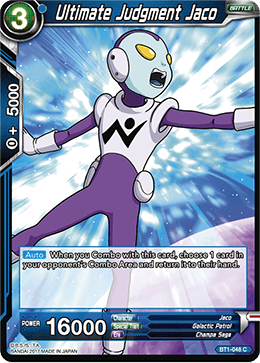 Ultimate Judgment Jaco - BT1-048 - C