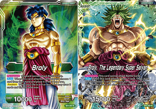 Broly // Broly, The Legendary Super Saiyan - BT1-057 - R