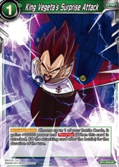 King Vegeta's Surprise Attack - BT1-079 - UC