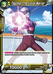 Tagoma, The Loyal Warrior - BT1-093 - UC