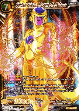 Golden Frieza, The Resurrected Terror - Special Rare - BT1-086 - SPR