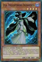 Lyla, Twilightsworn Enchantress - COTD-EN025 - Super Rare - 1st Edition