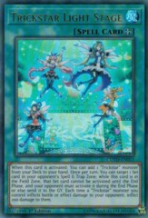 Trickstar Light Stage - COTD-EN053 - Ultra Rare - 1st Edition on Channel Fireball