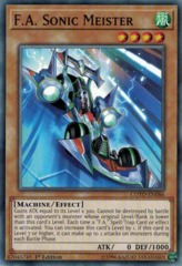 F.A. Sonic Meister - COTD-EN086 - Common - 1st Edition