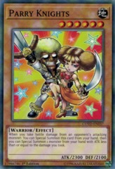 Parry Knights - COTD-EN037 - Common - 1st Edition