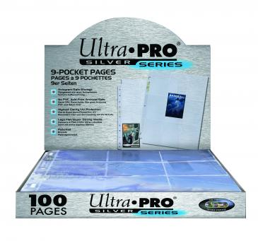 Ultra Pro - 9-Pocket Silver Series Page for Standard Size Cards