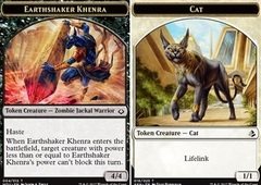 Earthshaker Khenra // Cat Token