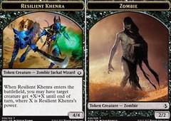 Resilient Khenra // Zombie Token