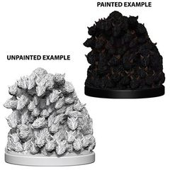 Pathfinder Battles Unpainted Minis - Swarm Of Rats