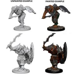 D&D Unpainted Minis - Dragonborn Male Fighter