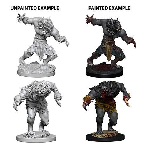 Nolzur's Marvelous Unpainted Miniatures - Werewolves - Role Playing