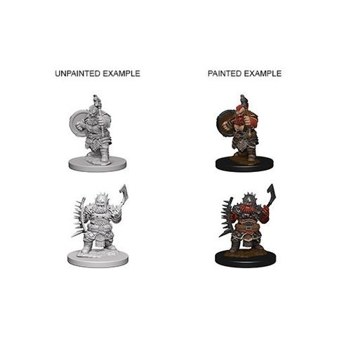 Pathfinder Battles Unpainted Minis - Dwarf Male Barbarian