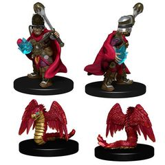 Wizkids Pre-Painted Miniatures: Boy Cleric And Winged Snake