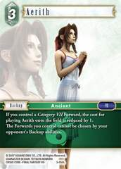 Aerith - 3-050L - Foil on Channel Fireball