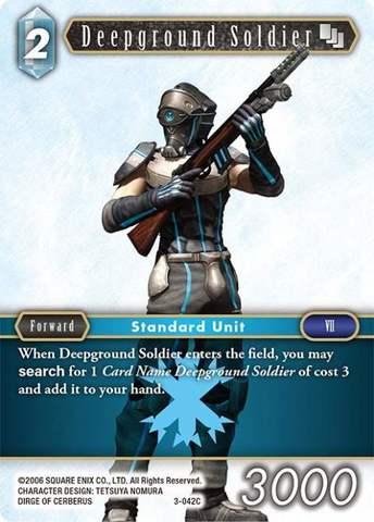 Deepground Soldier - 3-042C - Foil