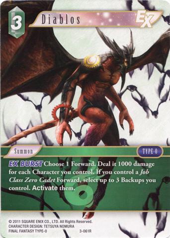 Diablos - 3-061R - Foil