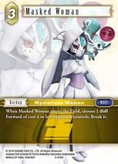 Masked Woman - 3-076R - Foil