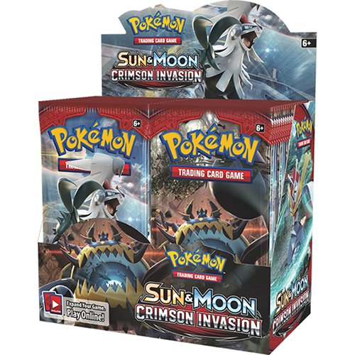 Sun & Moon - Crimson Invasion Booster Box