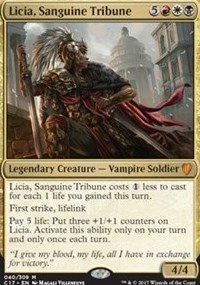 Licia, Sanguine Tribune - Foil