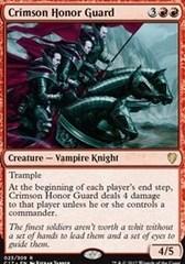 Crimson Honor Guard