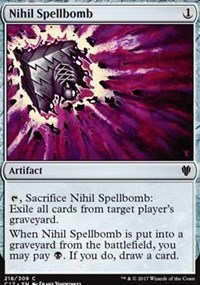 English Foil 1x Nihil Spellbomb Masters 25 NM-Mint