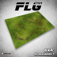 Front Line Gaming - Mats Grasslands 1 4X6