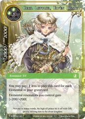 Cecil Letoliel, Elven Prince - SDR4-001 - SR on Channel Fireball