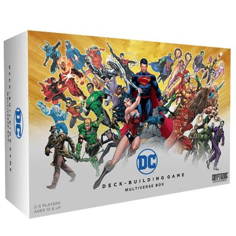 DC Comics Deck-Building Game Multiverse Box