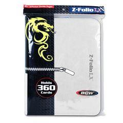 BCW Z-Folio 9 Pocket Lx Binder White