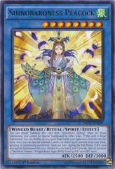 Shinobaroness Peacock - MP17-EN200 - Rare - 1st Edition