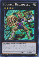Zoodiac Broadbull - MP17-EN206 - Secret Rare - 1st Edition