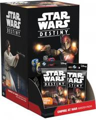 Star Wars Destiny - Empire at War Booster Display