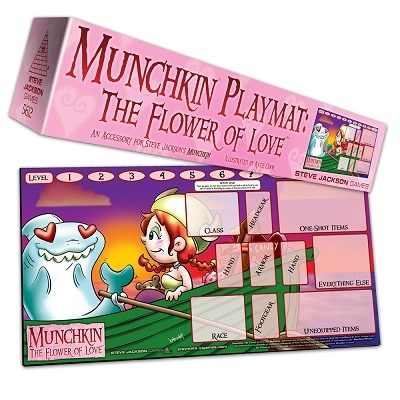 Munchkin Playmat: Flower Of Love