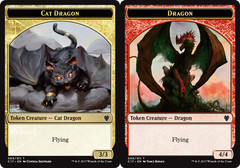 Dragon (4/4) // Cat Dragon Token