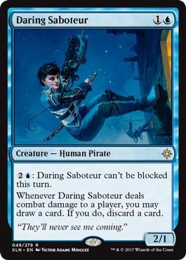 Daring Saboteur