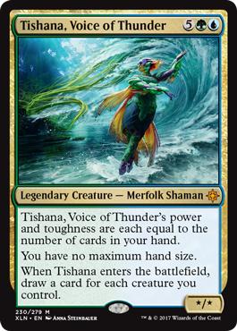 Tishana, Voice of Thunder - Foil