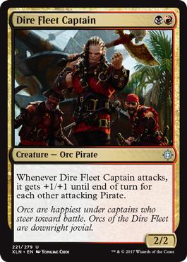 Dire Fleet Captain - Foil