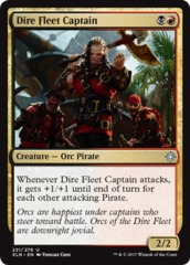 Dire Fleet Captain - Foil