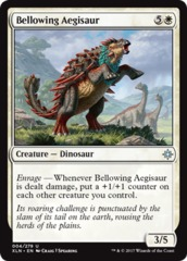 Bellowing Aegisaur - Foil