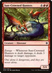 Sun-Crowned Hunters - Foil