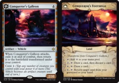 Conquerors Galleon // Conquerors Foothold - Foil