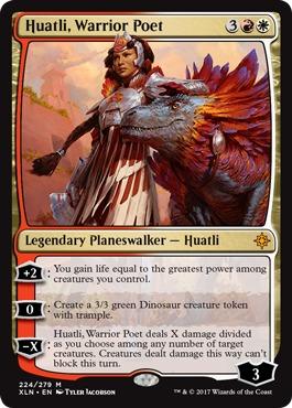 Huatli, Warrior Poet - Foil